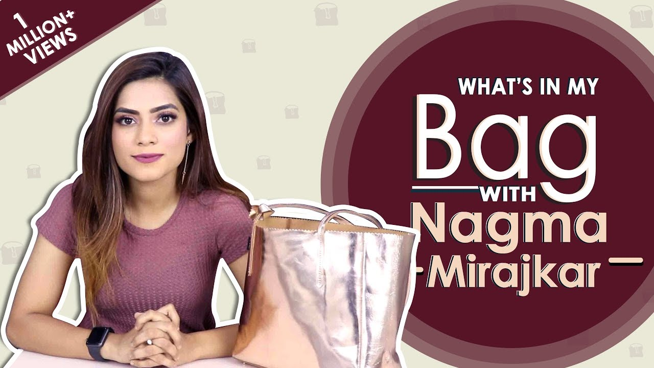 What's In My Bag With Nagma Mirajkar | Bag Secrets Revealed | Exclusive