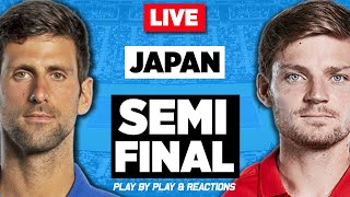🔴 DJOKOVIC vs GOFFIN | Japan Open 2019 | LIVE Tennis Stream Play-by-Play