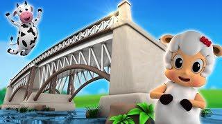 Лондонский мост падает вниз | детские рифмы | песня для детей | London Bridge Is Falling Down