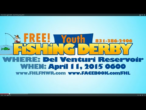 Fort Hunter Liggett MWR - Youth Fishing Derby 2015