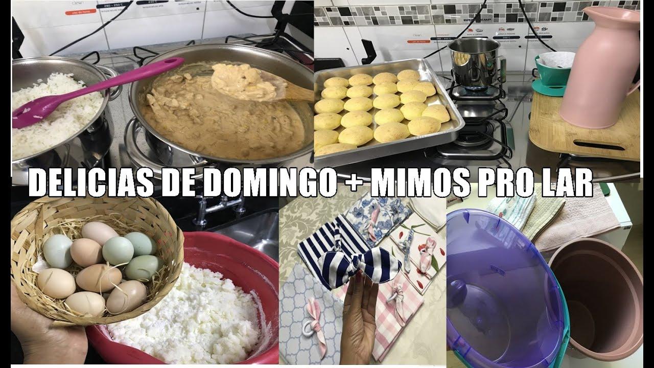 Strogonof de Domingo  nas Panelas Novas | Fiz Pão de Queijo | Mimos pro Lar