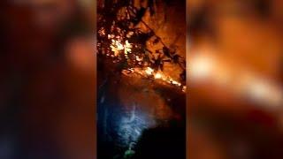 Fire breaks out at Bukit Bendera, again