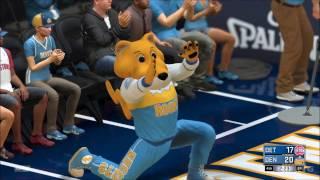 NBA 2K17 - Detroit Pistons vs Denver Nuggets   Gameplay (PC HD) [1080p60FPS]