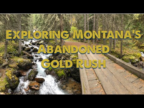 Montana's Gold Rush Adventure, Exploring Abandoned Mines