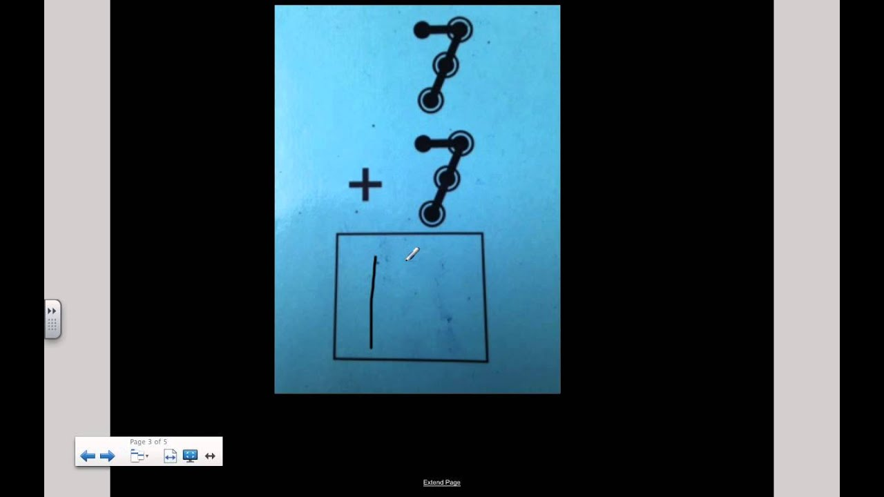 Addition Touch Math - YouTube