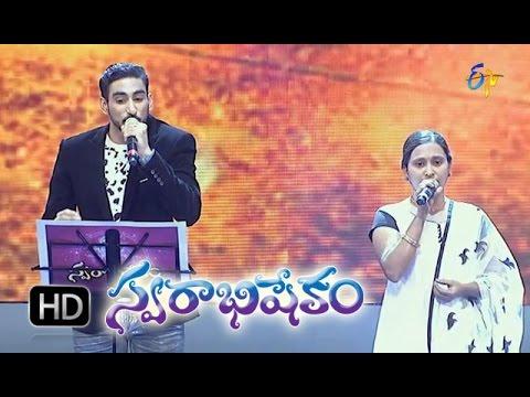 Gundeninda Gudi Gantalu Song - Karunya, Shreya Performance in ETV Swarabhishekam - 1st Nov 2015