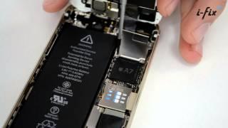 Как заменить разбитый дисплей на iPhone 5s | iPhone 5s screen disassembly | i-fix.com.ua(, 2014-07-02T12:01:23.000Z)