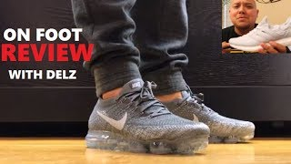 Nike Air Vapormax Sneaker On Feet Review + Can You Compare to adidas Ultraboost?