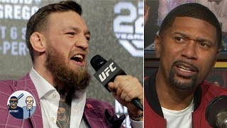 Conor McGregor will fight again in the UFC despite his retirement - Jalen Rose   Jalen & Jacoby