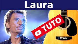 Laura - Johnny Hallyday [Tuto guitare] by Terafab