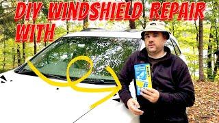 DIY Windshield Repair with RainX Kit
