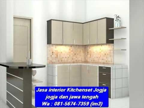 Wa 081 5674 7359 Im3 Jasa Kitchenset Jogja Interior Kitchen Set Murah Jogja Kitchen Set Murah Solo