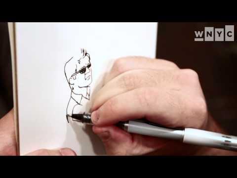 Jason Polan, The New York Drawer