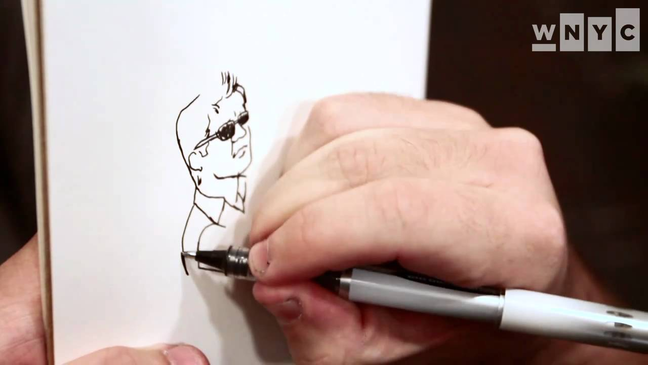 Jason Polan Nyc Illustrator Who Sought To Draw Every New Yorker Has Died At 37 Gothamist