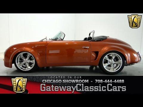 1957 Porsche Speedster Replica Gateway Classic Cars Chicago #778