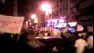 Tanger 17  juillet révolution 100 milles manifestants