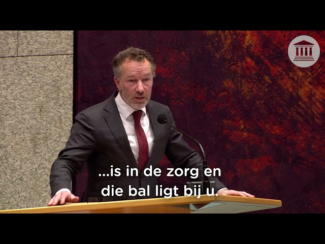 bezuinigingen in de zorg door de VVD leiden nu tot capaciteitsproblemen | 15-04-2021