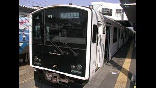 JR九州 305系 福岡市地下鉄・筑肥線 天神→筑前前原間走行 側面展望 M車