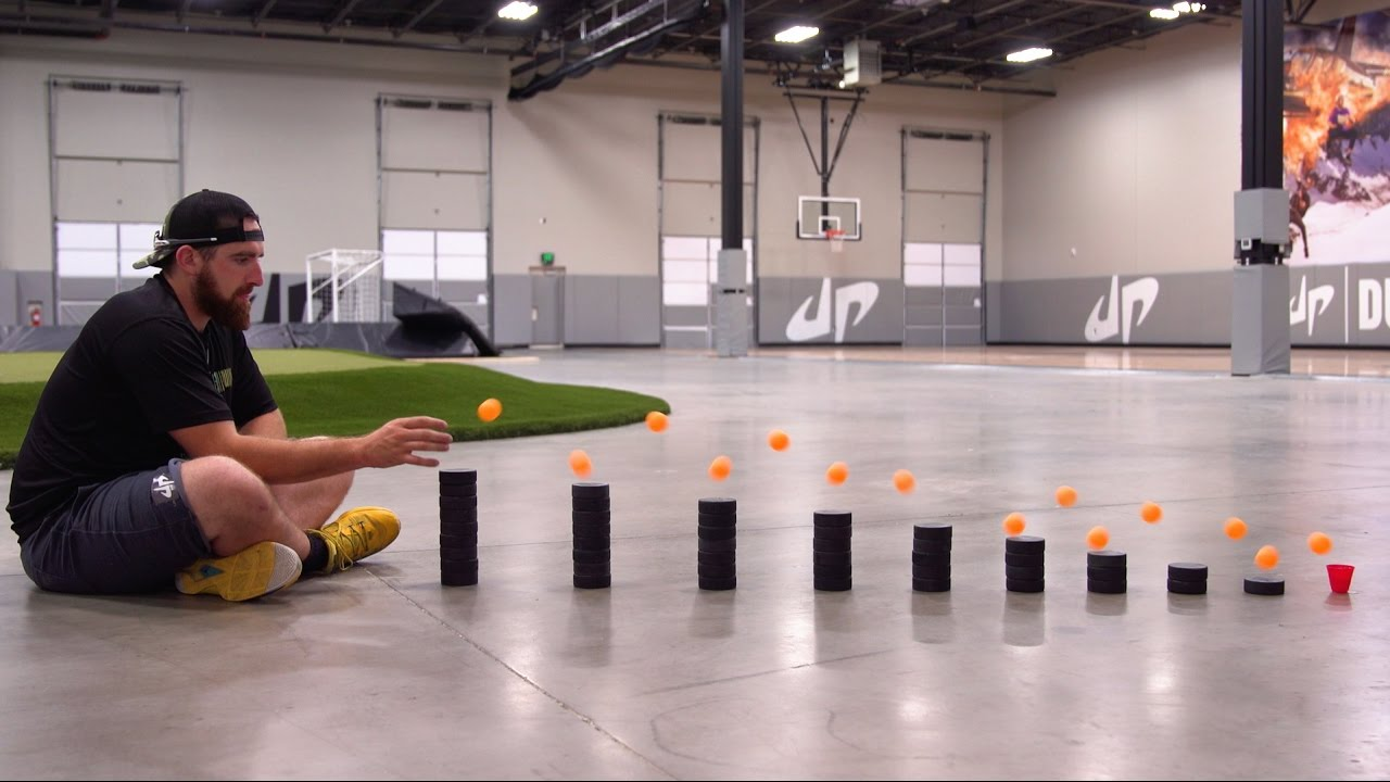 Ping Pong Trick Shots 4 | Dude Perfect izle