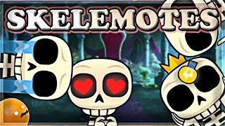 NEW Skeleton Emotes! | MAXING OUT Clone Spell | Clash Royale 🍊
