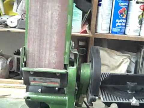Central Machinery Belt Disc Sander