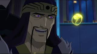 Faust whining (Justice League Dark)