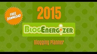 2015 Weekly Planner For Bloggers
