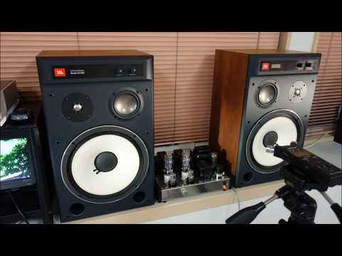 Smooth JBL 4312SX driven by 2A3 tube single ended amplifier♫