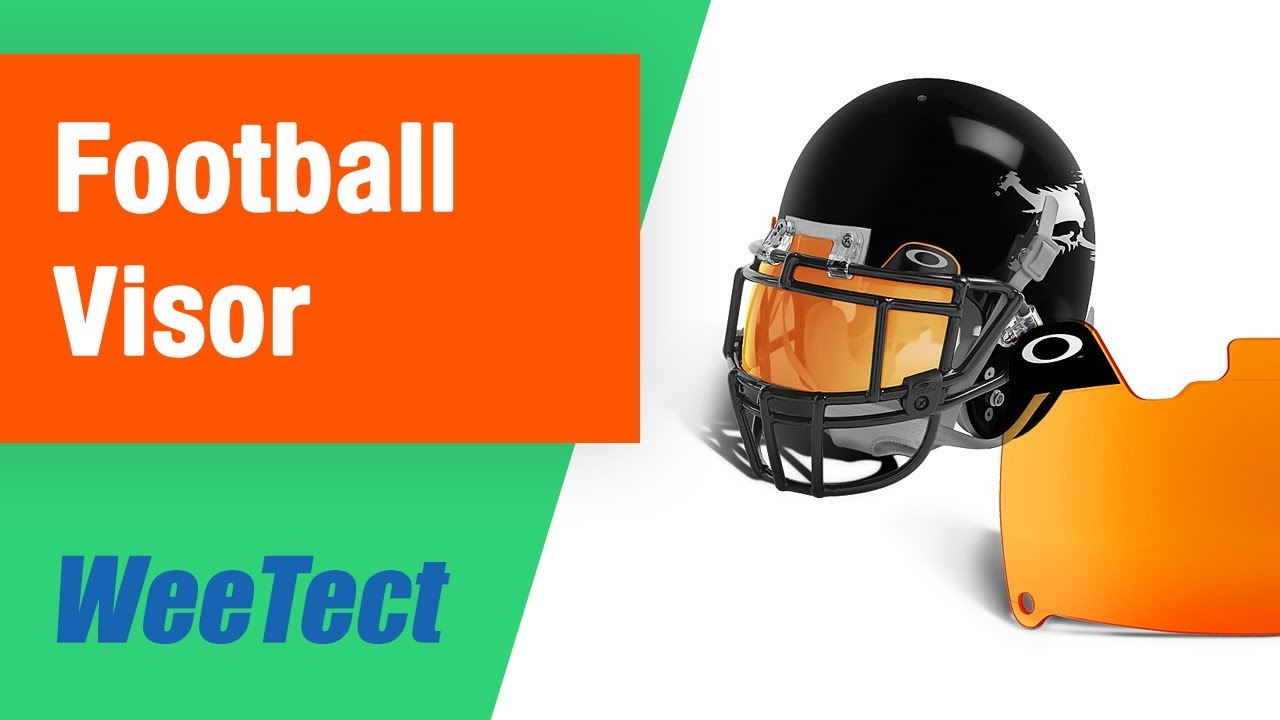 Custom Football Helmet Visor Stickers