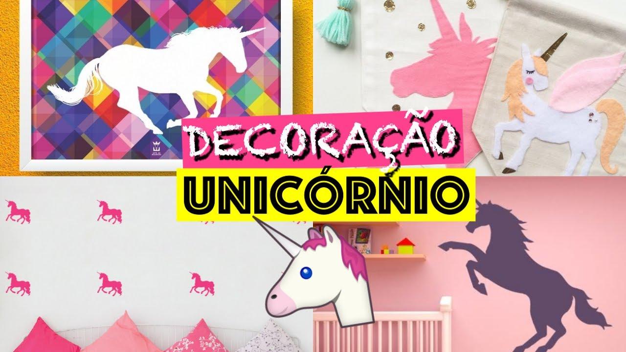 DIY DECORA u00c7ÃO DE QUARTO PARA QUEM AMA UNICÓRNIOS ft Eduardo Wizard YouTube