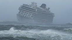 Die heftigsten Stürme auf Kreuzfahrtschiffen