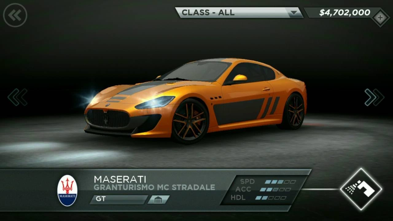 Nfs Most Wanted 2012 All 55 Cars Unlocked On Android Ios Hd