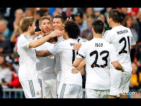 Real Madrid 4-0 Osasuna Goals & Highlights