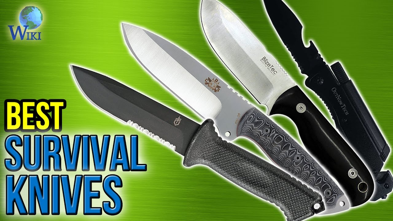 10 Best Survival Knives 2017 - YouTube