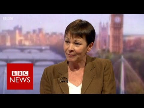 Green Party leader Caroline Lucas