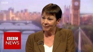 Green Party leader Caroline Lucas 'We need to review Prevent'   BBC News