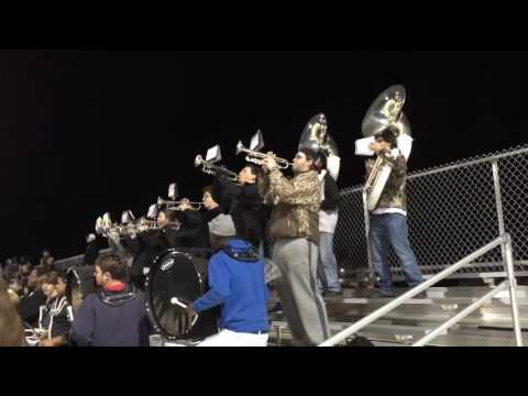Cleveland High School vs Amory High School in 4A football playoff game.