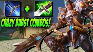 ICHAIVAL STONECUTTING ERLANG HAS INSANE BURST COMBOS! - Masters Ranked Duel - SMITE