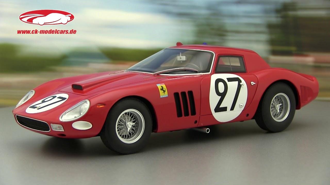 Grossman 1:18 cmr Ferrari 250 gto 64 #27 9th 24h 1964 Lemans tavano