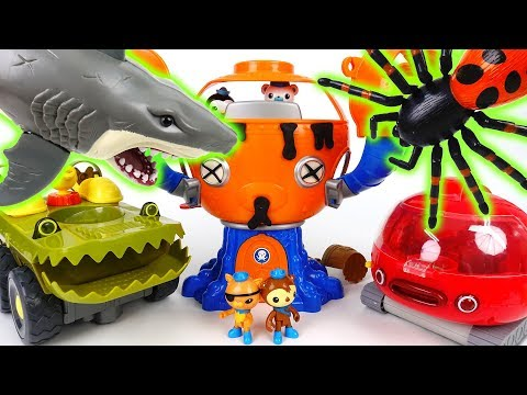 Thumbnail: Octopod is Destroyed by Shark Attack~! Octonauts, Defeat Shark at the New Octopod