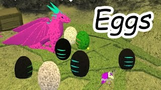 A Baby Is Born - Dragon Eggs & Horse Heart Let's Play Online Roblox Horses Game thumbnail