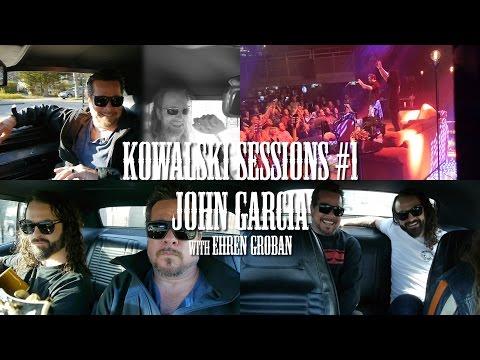 Kowalski Sessions #1, John Garcia (conversation, live, acoustic song & ride)