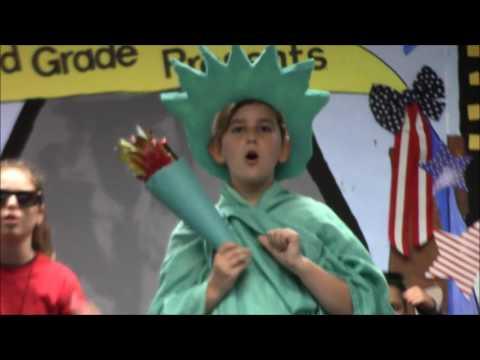 American Symbols On Parade 3rd Grade Play 2016