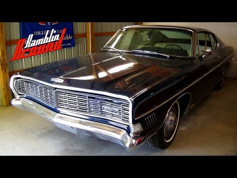 1968 Ford Galaxie XL Fastback 428 V8 4 BBL Hideaway Headlights at Country Classic Cars