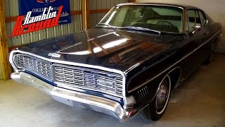 1968 ford galaxie xl fastback 428 v8 4 bbl hideaway headlights