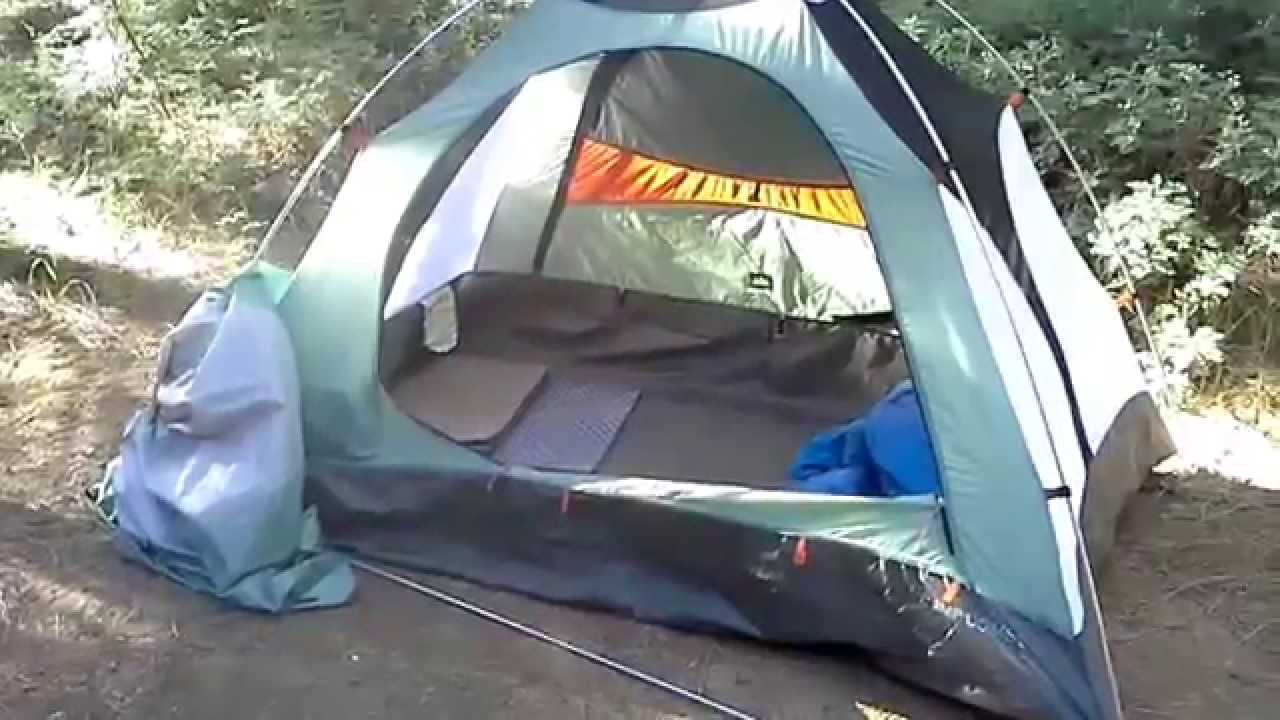 & REI Camp Dome 2 Tent Review 2 of 3 - YouTube