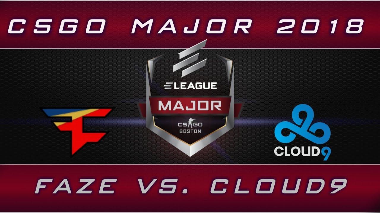 CS:GO ELEAGUE Major final – Faze vs Cloud9 – Boston 2018 recap