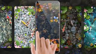 Lively Koi Fish Live Wallpapers Themes screenshot 4