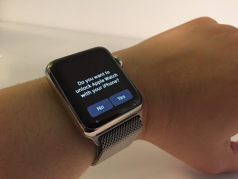 How to unlock Apple watch icloud lock With your iphone