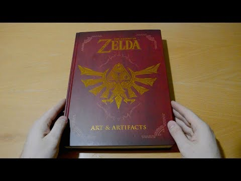 The Legend of Zelda: Art & Artifacts book (every page shown)